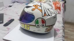 Capacete K3 Valentino Rossi