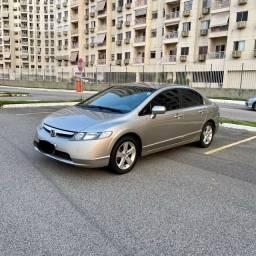 Honda Civic 2008 Lxs Mecânico Apenas 26.000 kms Único dono Raridade