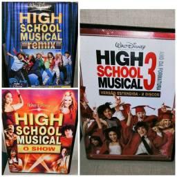 DVD High School Musical 3 Ano da Formatura + Remix & O Show