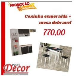 Kit Cozinha + Mesa com Frete Grátis!!