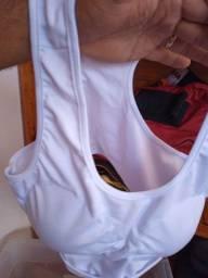 Protetor de seios, ideal para mulheres que treinam lutas.