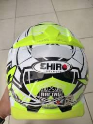 Capacete 58 motocross shiro