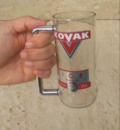 Caneca artesanal kovak ( kit com 2 )