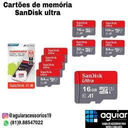 Cartões de memória SanDisk a partir de 67 reais