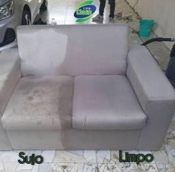 HIGIENIZAÇÃO do seu sofa/poltrona