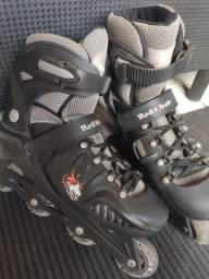 Patins In-Line Rollers Red Nose