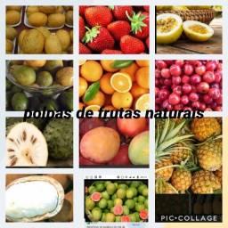 Polpas de frutas naturais, alho, mel