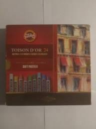 Giz Pastel Seco Soft Toison D Or Koh-I-Noor 24 Cores