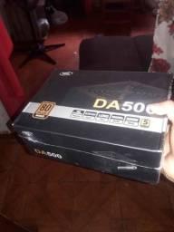 Fonte 500W 80plus DeepCool