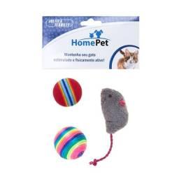 Brinquedo Kit Gato 3 Peças