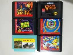 Fitas Originais de Mega Drive