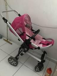 Carrrinho de bebê menina Dardara importado