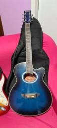 Vendo violão tagima guitarra hunydai  e caixa purificada