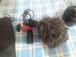 Câmera Canon T7i + Kit Vídeomaker