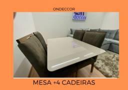 mesa+4 cadeiras