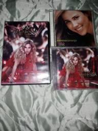 Dvd e cds Wanessa