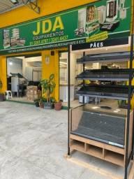 Título do anúncio: Expositor de pão - auto serviço - prateleira - padaria , supermerccado- balcão