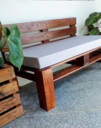 Banco rústico / sofá de palete