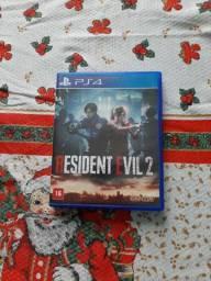 Jogo PS4 residente evil 2