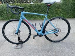 Bike Specialized Roubaix azul 56