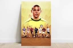 Título do anúncio: Quadro MDF Ídolos do Futebol - São Carlos