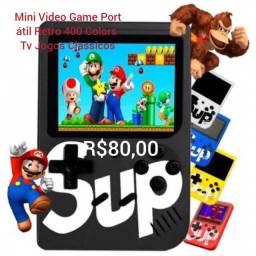Mini Video Game Portátil Retro 400 Colors Tv Jogos Classicos