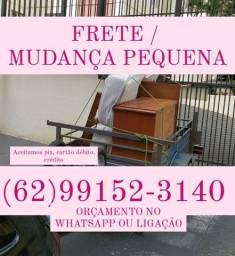 FRETE E MUDANÇAS PEQUENAS