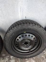 Pneus com rodas aro 16