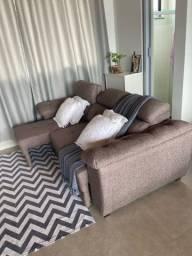 Sofa retrátil 3 lugares