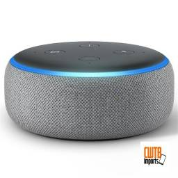 Alexa Echo Dot 3 Geração Assistente Virtual Português Novo - Garantia