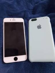 iPhone 6 64 GB leia descrição troco