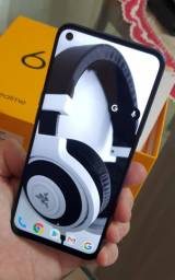 Oppo Realme 6 Dual 128gb - Tela 90hz - Global - Completo + 1 capinha e pelicula