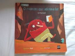 Livro infantil - O monstro que adorava ler
