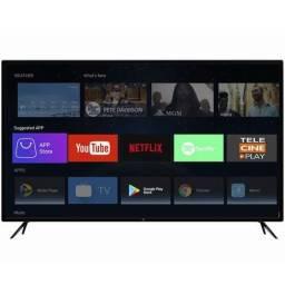 "Smart TV Led 50"" Hq Ultra HD 4K Netflix Youtube 3 HDMI 2 Usb Wi-Fi"