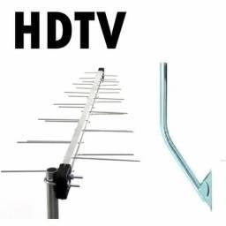 Antena Externa TV Digital Terrestre HDTV
