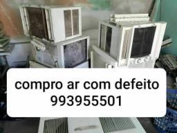 COMPRO AR CONDICIONADO COM DEFEITO  VOU BUSCAR