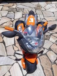 Moto elétrica supersports 6V laranja