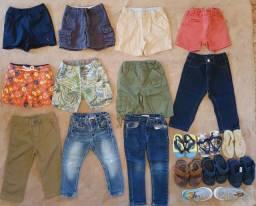 Lote Roupas de MARCA - Menino 1,5 a 3,5 anos