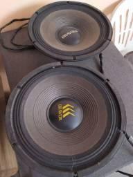 Alto falantes Bravox 12 polegadas