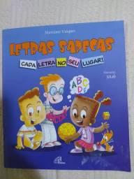 Livro paradidático Letras Sapecas