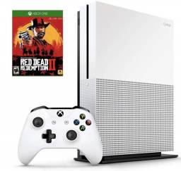 Xbox One S 1Tb + 1 controle + Jogo Red Dead Redemption 2