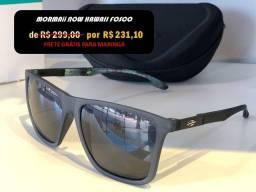 Óculos de Sol Mormaii Original Hawaii Fume só 3x de R$ 74 + frete Grátis para Maringá
