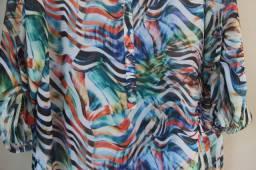 Camisa Estampada Linda