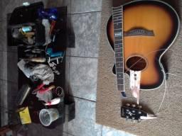 Manutenção e consertos de violão e outros
