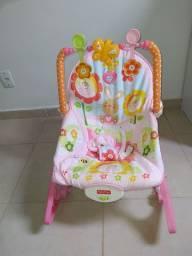 Cadeira de descanso musical/ vibratória menina