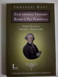 Livros do filósofo Kant - bilingues
