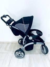 Título do anúncio: Carrinho de Bebê com Isofix e Bebê Conforto Infanti