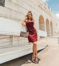 Vestido Novo Feminino - Tecido Importado Premium