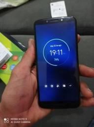Moto G6 32 GB com biometria