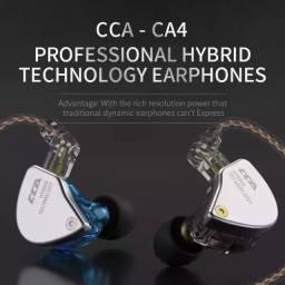 Fone para retorno de palco CCa Ca4 Original lacrado 4 Drivers